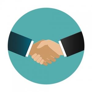 Handshake - web