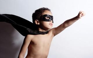 Super Hero Kid - web