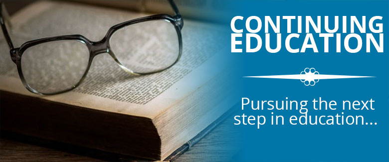 Continuing Education - Seminary and College Undergrad