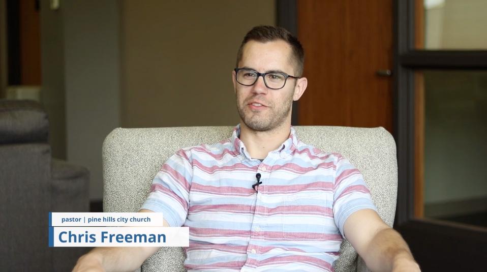 Chris Freeman, City Church, Video Poster