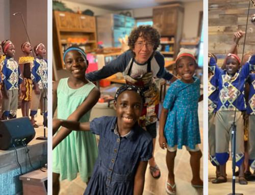 LifeChange Camp Hosts African Children's Choir