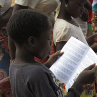 International Church Planting - Southern Africa - Boy Reading