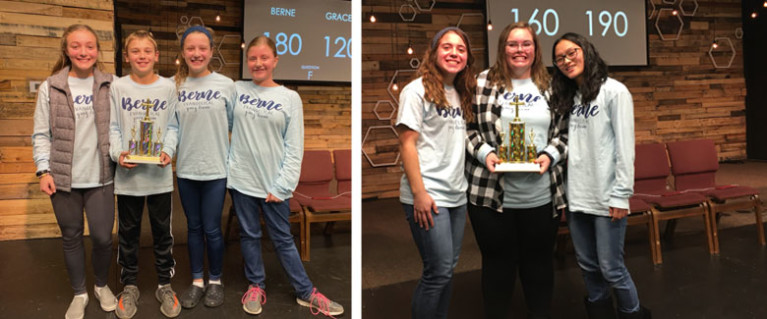 Bible Quizzing Results - Fall 2019
