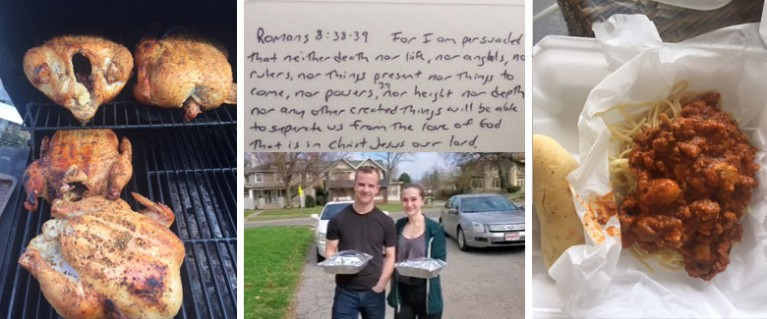 Crossivew Church Member Delivers Food